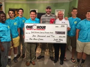 One Hour Cares Reaches $50,000 Donation Milestone