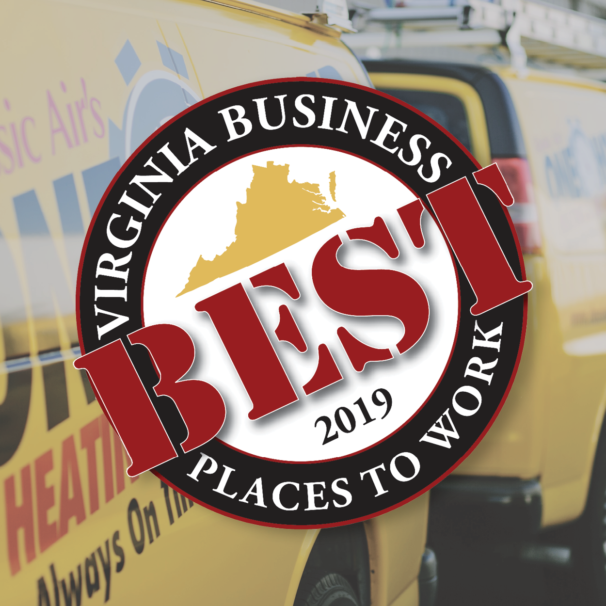 One of The 2019 Best Places to Work in Virginia